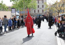 La procession de la Sanch à Perpignan en avril 2019