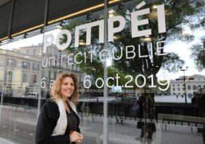 Frédérica Montani, coordinatrice scientifique de l'exposition.