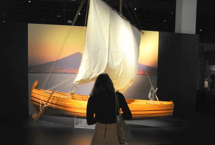 Pompéi, tragédie et bravoure des marins de Pline l'ancien.