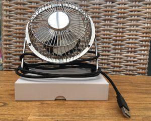 Ventilateur USB le nec plus ultra de la ventilation personnelle.
