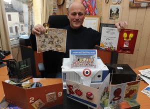 Jean Luc Meissonnier le maire de Baillargues  aprés plus de dix ans de voeux iconoclastes à base de préservatifs, de gingembre et de strings républicains.