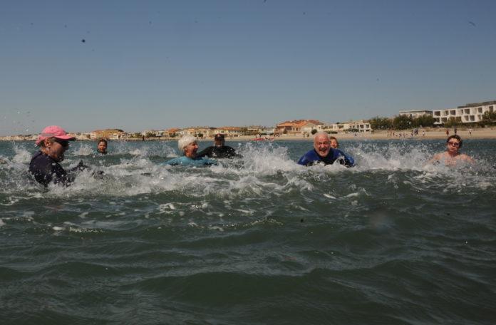 sea fitness à Carnon-plage; Image d'archives 2019. (c) topsudnews