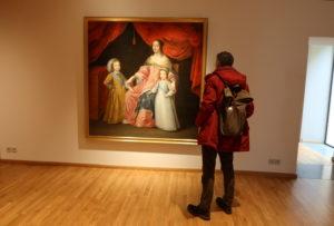 Pas de déconfinement prolongé pour Anne d'Autriche, exposition portraits de reines de France au musée Hyacinthe Rigaud de Perpignan. (C) Topsud News