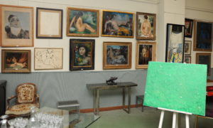 Oeuvres de La vente du 8 mai. c) hdv Montpellier. Reproduction même partielle interdite.